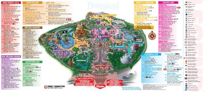 Disneyland-Map